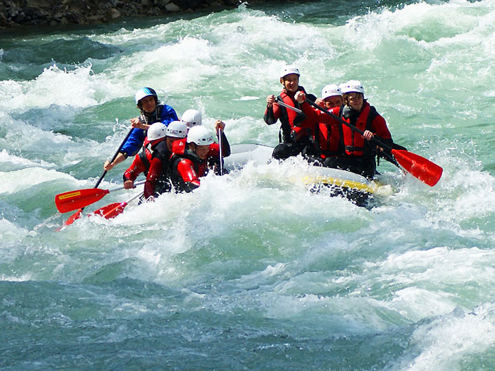 Rafting – on request