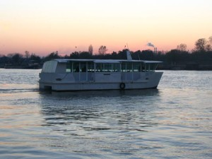 Boat cruise on Danube and Sava