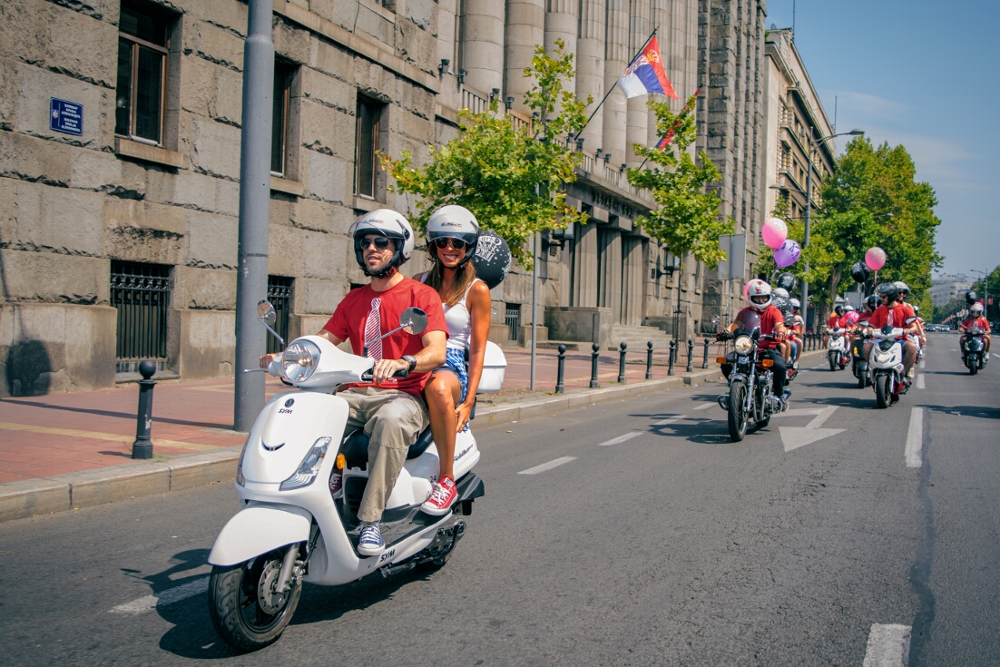 Scooter ride tours – from 60 EUR