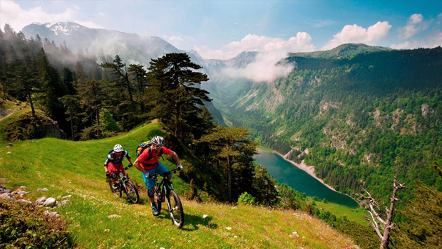 Mountain biking – on request