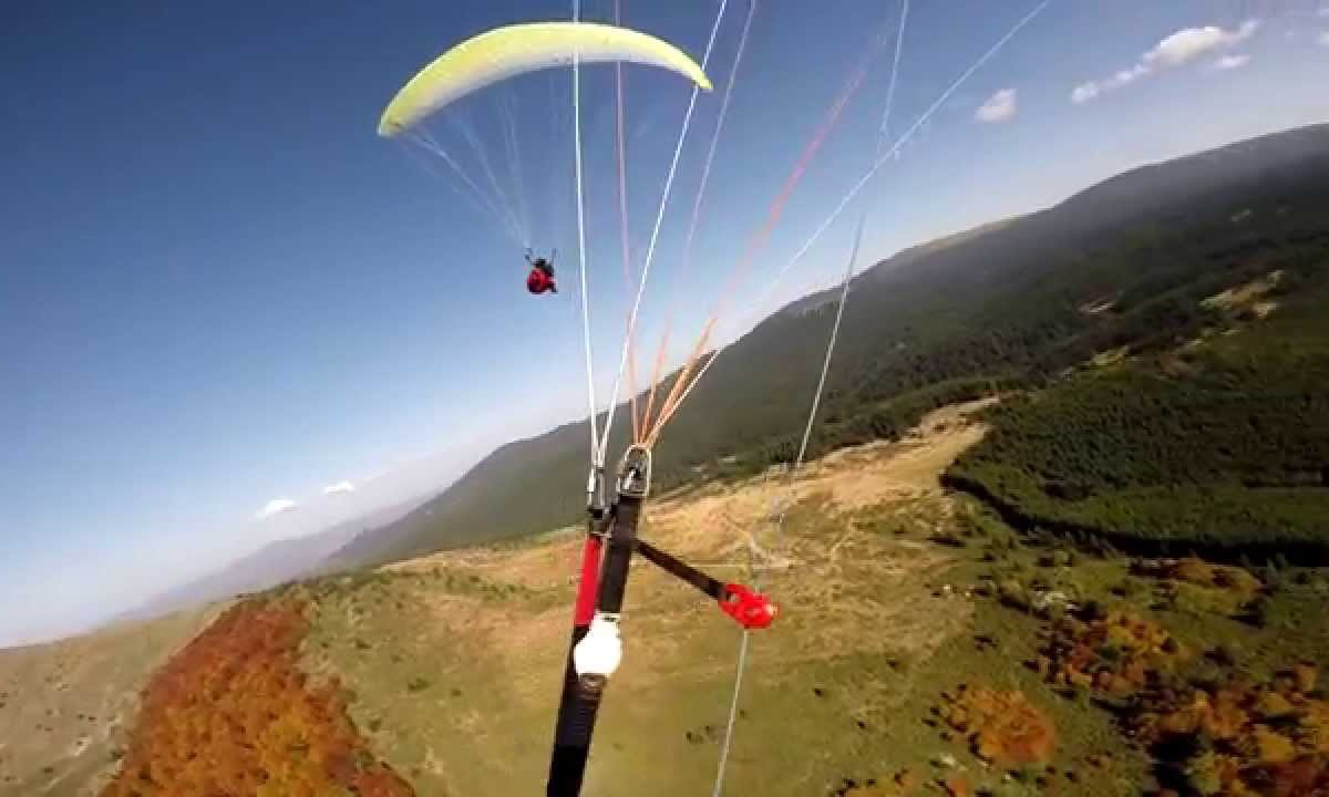 Paragliding – on request