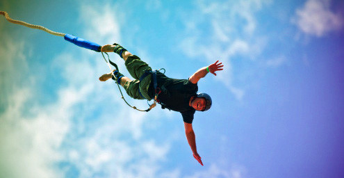 Bungee jump – on request