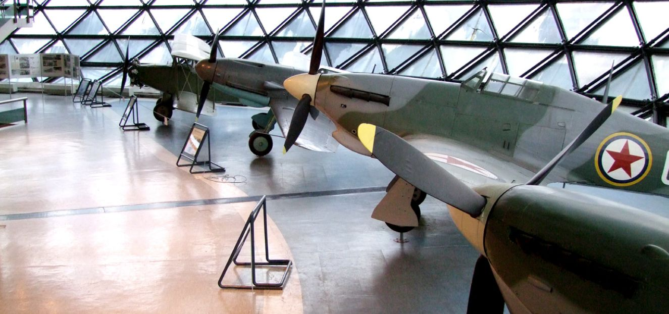 Belgrade escape relax museum of aviation