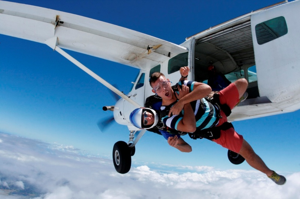 Skydiving – on request
